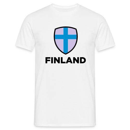 Finland logo t-shirt - Herre-T-shirt