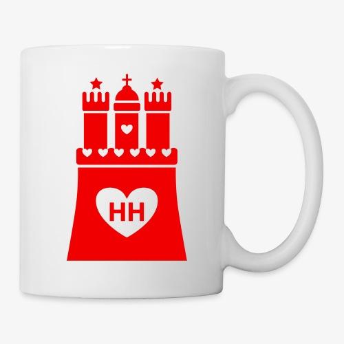 Ich liebe Hamburg - Tasse Becher - Tasse