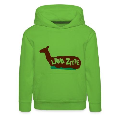 Lama zitte - Kinderen trui Premium met capuchon