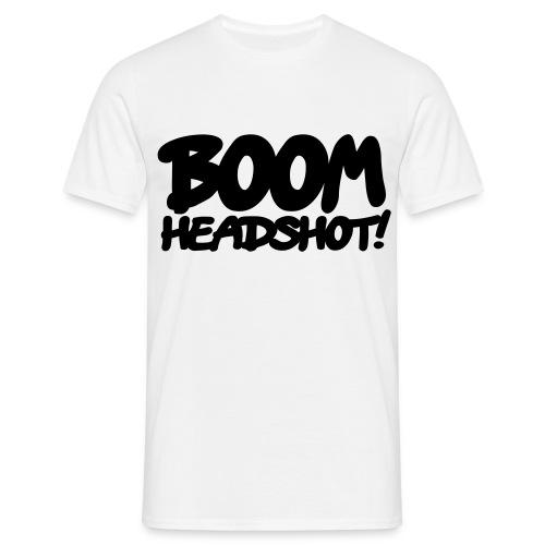 BOOM HEADSHOT HOMME - T-shirt Homme