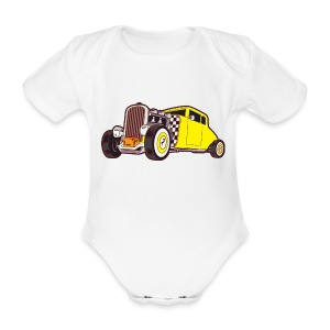 US Hot Rod - Baby Bio-Kurzarm-Body