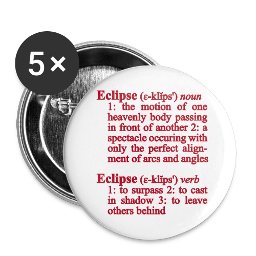 Eclipse Buttons - Buttons groß 56 mm