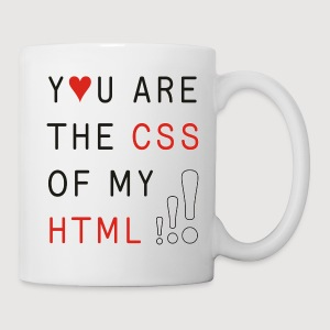 You Are The CSS Of My HTML | Kaffeebecher / Tasse - Tasse