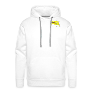 Pullover & Hoodies ~ Männer Premium Kapuzenpullover ~ BOSNA (White)