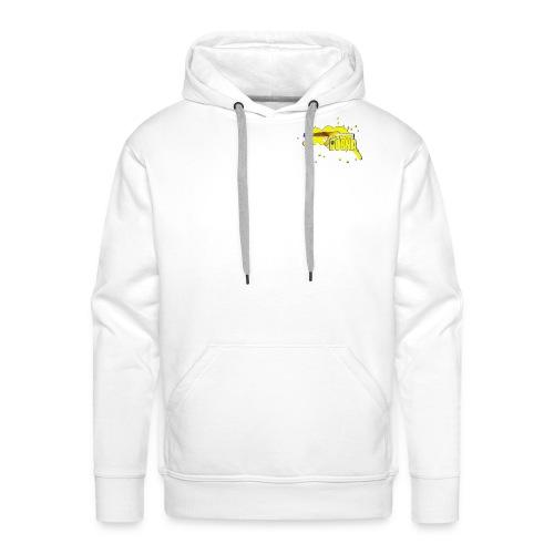 BOSNA (White) - Männer Premium Hoodie