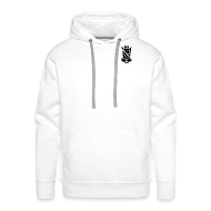 Pullover & Hoodies ~ Männer Premium Kapuzenpullover ~ BIH Pulli (white)