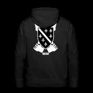 Pullover & Hoodies ~ Männer Premium Kapuzenpullover ~ BIH Pulli (Black)