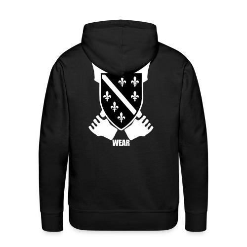 BIH Pulli (Black) - Männer Premium Hoodie