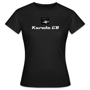 Karate GB Girlie T-shirt - Women's T-Shirt