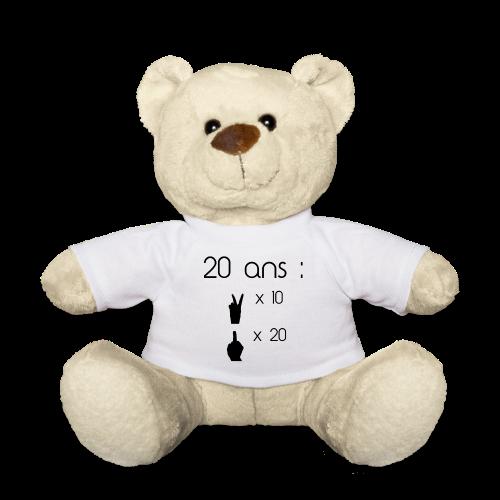 Nounours 20 ans - Nounours
