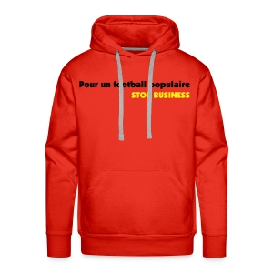 sweat stop business - Sweat-shirt à capuche Premium pour hommes