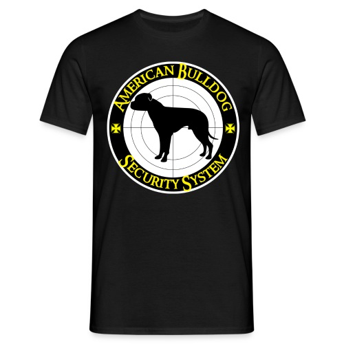 American Bulldog - Security System - Männer T-Shirt