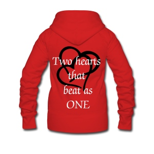 be my valentine! - Women's Premium Hooded Jacket