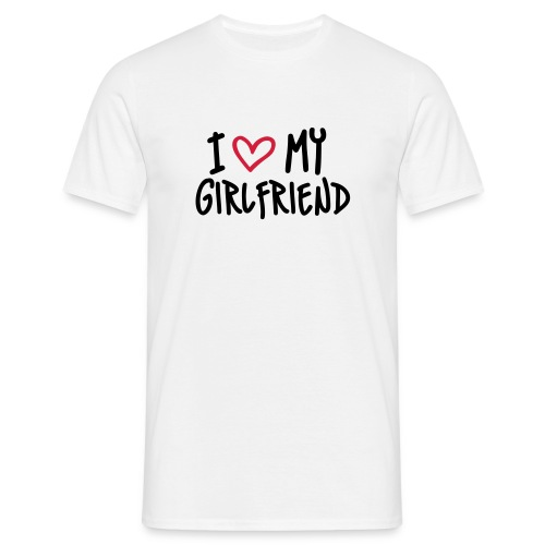 T-shirt - I Love MY GIRLFRIEND - T-shirt Homme