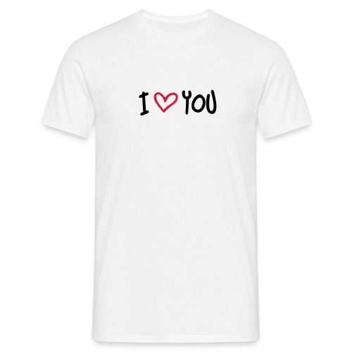 T-shirt - I Love YOU - T-shirt Homme