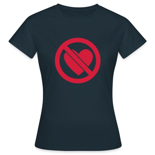 Heartless Shirt Girlie - Frauen T-Shirt