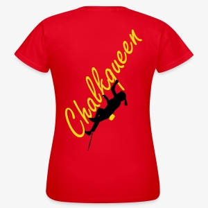 Chalkqueen (women) - Frauen T-Shirt