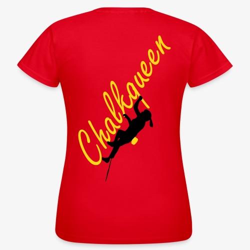 Chalkqueen (women) - Frauen T-Shirt