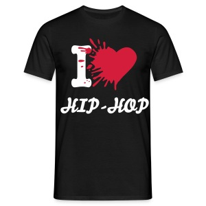 I love Hip-Hop Homme - T-shirt Homme