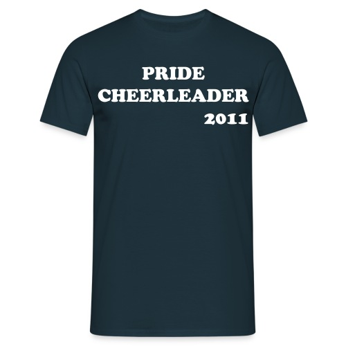 PRIDE CHEERLEADER 2011 - T-skjorte for menn