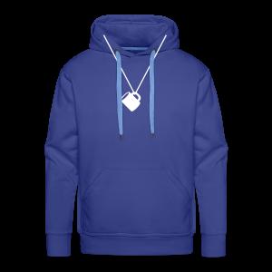 schnapsglas am band | herren hoodie (kapuzenpullover) für grünkohl, kohlfahrt und junggesellenabschied - Männer Premium Hoodie
