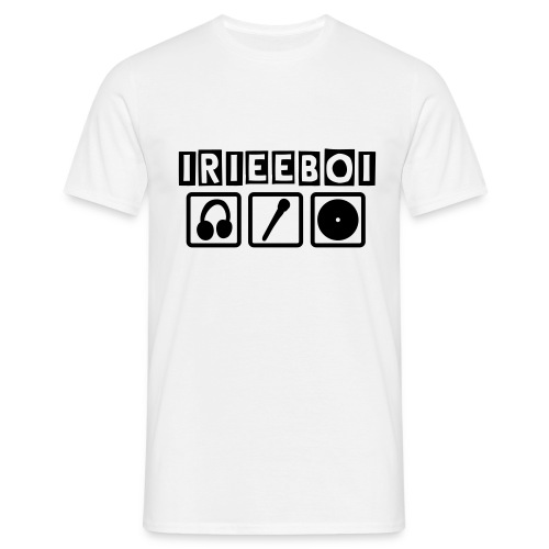 Iriee Boi - 3 box music - Men's T-Shirt