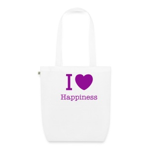 Happiness Funky Organic cotton bag - EarthPositive Tote Bag