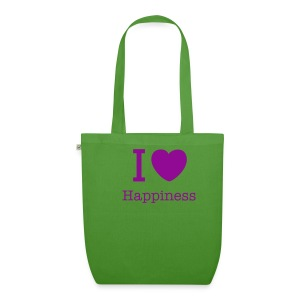 Happiness Funky Cotton Organic Bag - EarthPositive Tote Bag