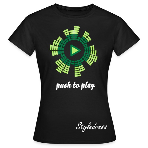 Push to Play Dress Shirt (Frauen) - Frauen T-Shirt