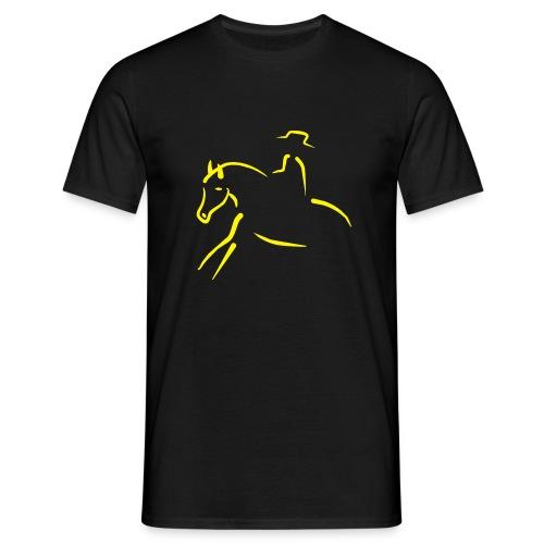 CowBoy Horse Slide - Maglietta da uomo