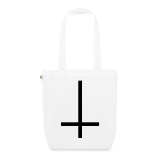 Anti-christ canvas tote bag - EarthPositive Tote Bag