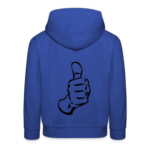 sweat shirt capuche enfant. - Pull à capuche Premium Enfant