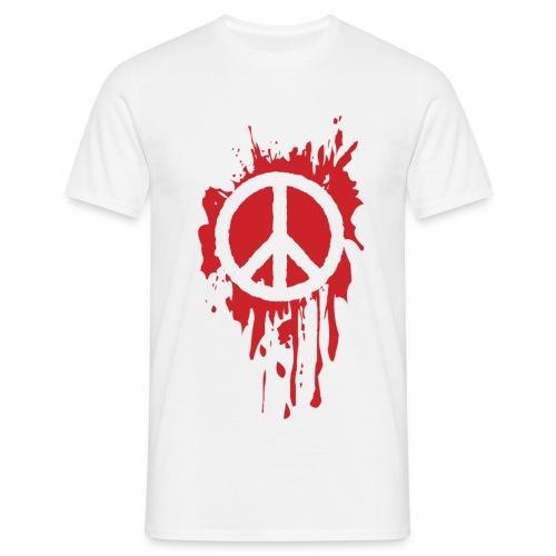 T shirt Peace - T-shirt Homme