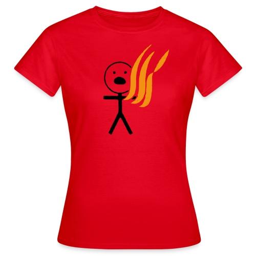 Fire Kills Children  - Women's T-Shirt