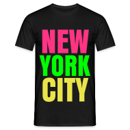 T-Shirts ~ Men's T-Shirt ~ glee york city (M)