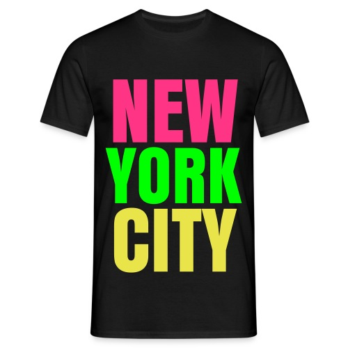 glee york city (M) - Men's T-Shirt