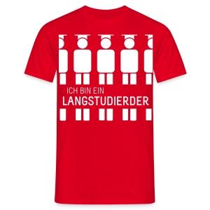 Langstudierder (Shirt - Heren) - Men's T-Shirt