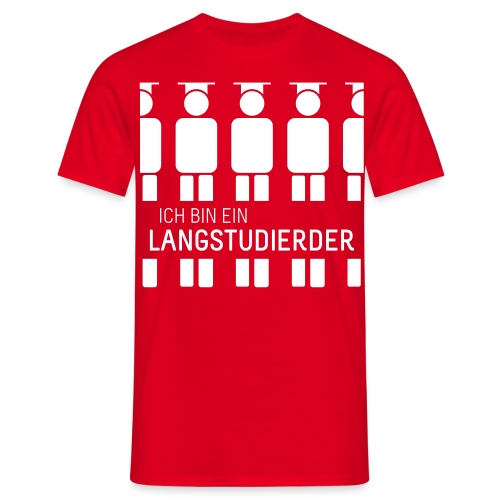 Langstudierder (Shirt - Heren) - Men's T-Shirt