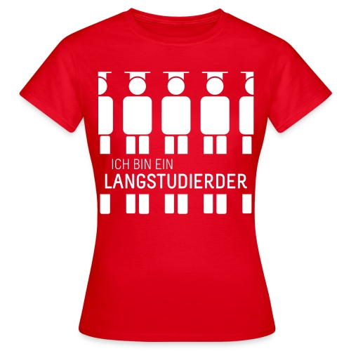 Langstudierder (Shirt - Dames) - Women's T-Shirt