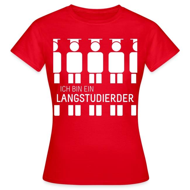 Langstudierder (Shirt - Dames)