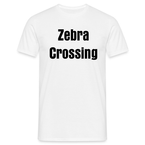 Zebra Crossing Homme - T-shirt Homme