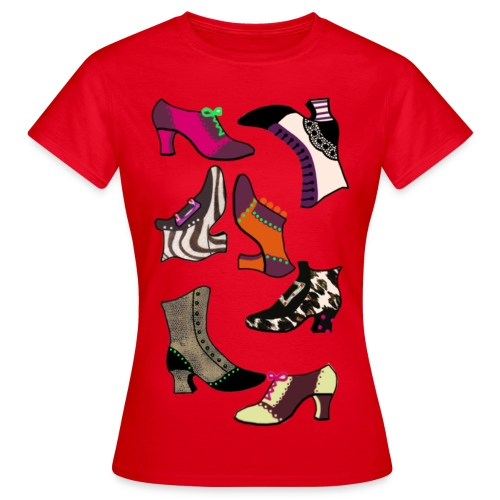 shoes - T-shirt dam
