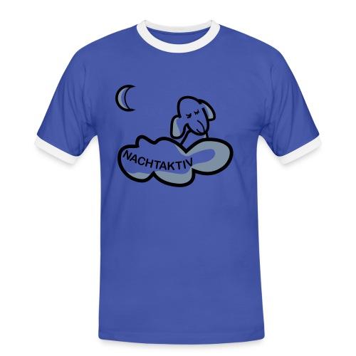 Schlafshirt - Männer Kontrast-T-Shirt