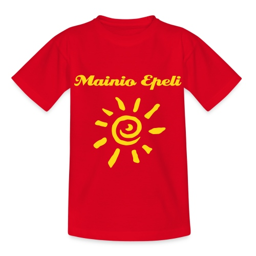 Mainio Epeli (or your text) - Teenage T-Shirt