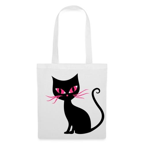 Creepy Cat Tote Bag - Tote Bag
