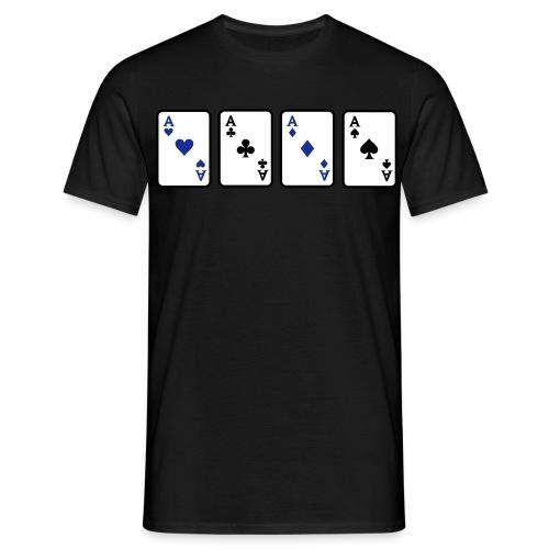 Play them Aces Men's Tshirt - Men's T-Shirt