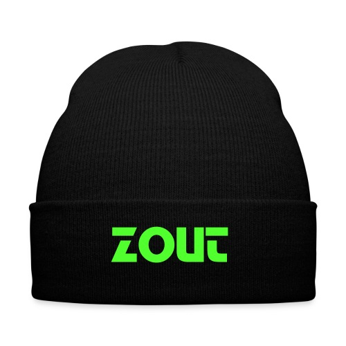 Black Zout Beanie - Winter Hat