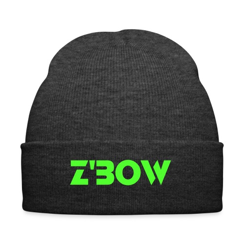Grey Z'bow Beanie - Winter Hat