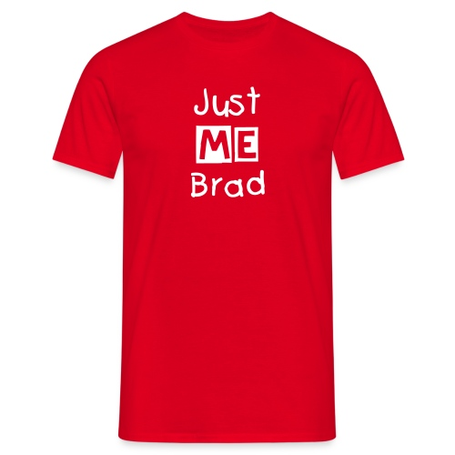 Simple Just Me Brad T-Shirt - Men's T-Shirt