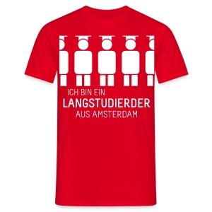 aus Amsterdam (Shirt - Heren) - Men's T-Shirt